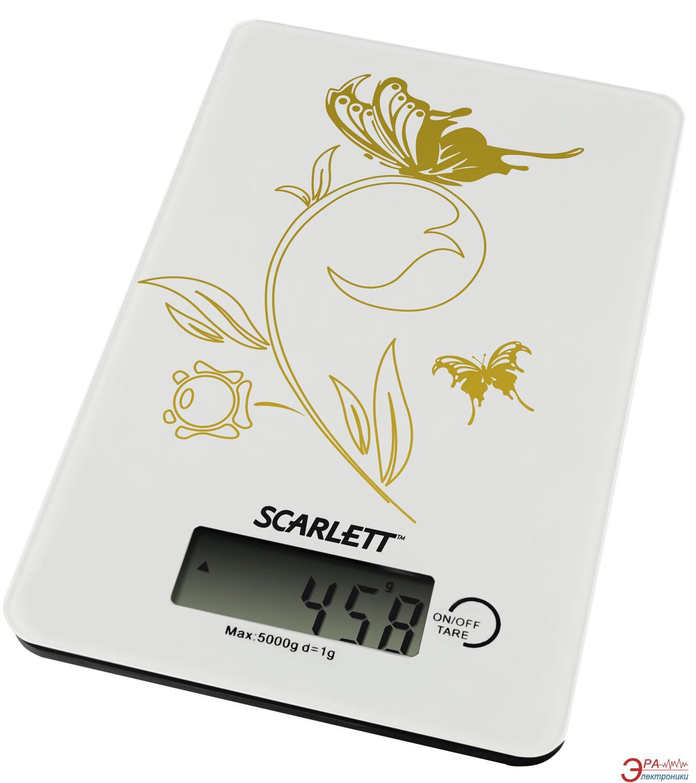 Кухонные весы Scarlett SC-1212 White