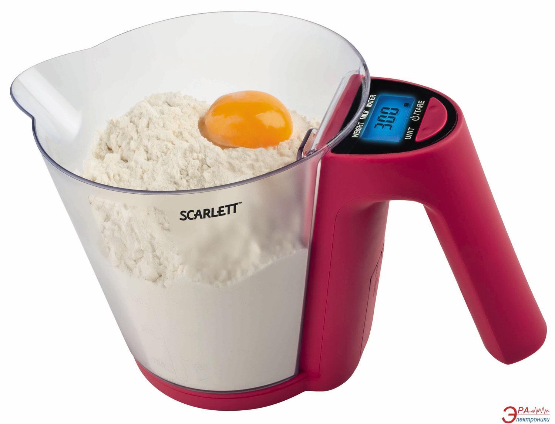 Кухонные весы Scarlett SC-1214 Plum