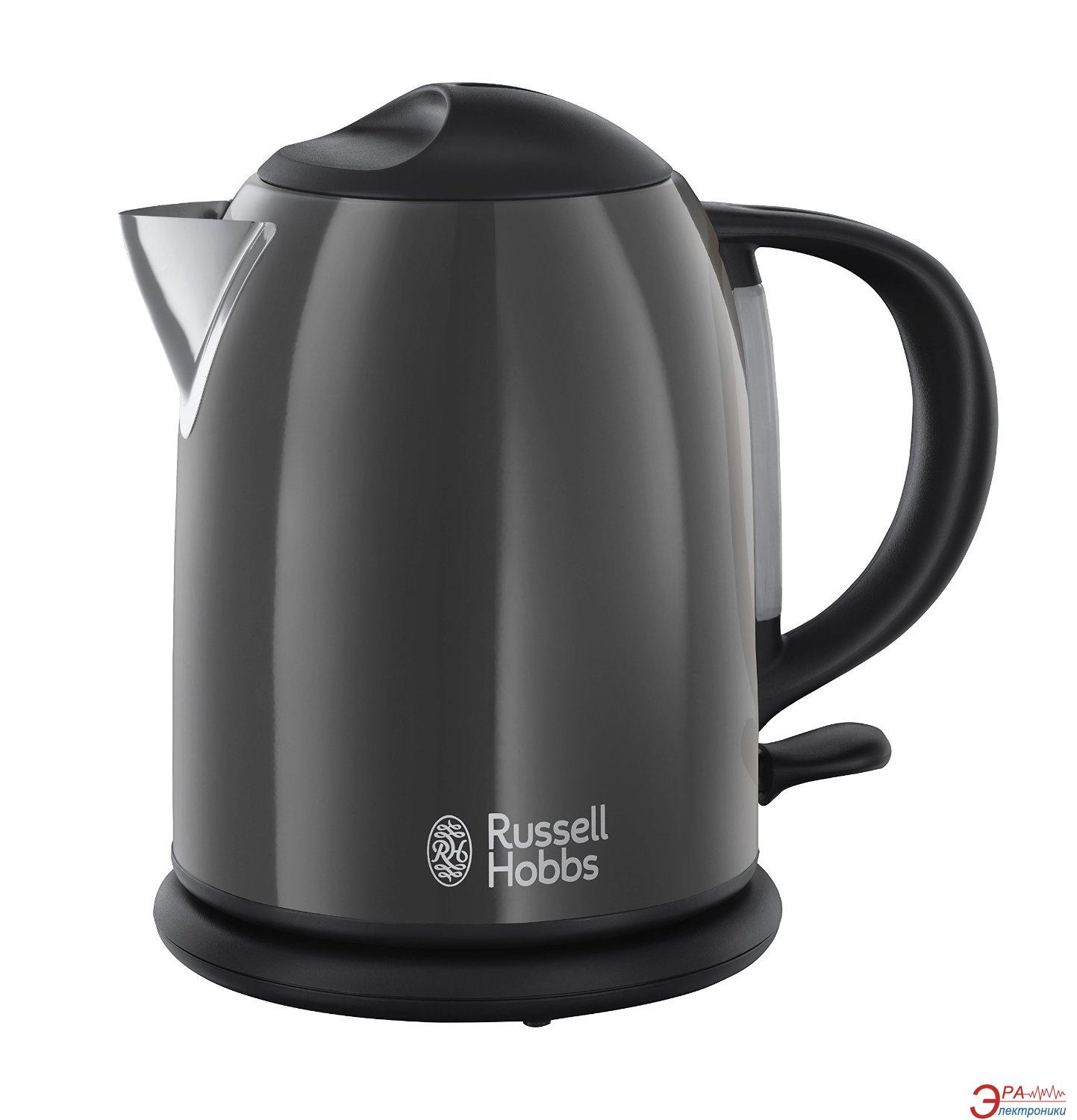 Электрочайник Russell Hobbs Colours Storm Grey (20192-70)