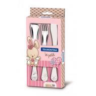 Набор столовых приборов Tramontina Baby Le Petit pink (66973/005)