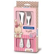 Набор столовых приборов Tramontina Baby Le Petit pink (66973/015)