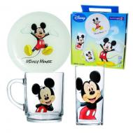 Набор посуды Luminarc DISNEY MICKEY COLORS (H5320)