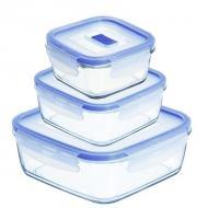 Набор контейнеров Luminarc Pure Box Active 0.38 L, 0.77 L, 1.22 L (J5640)