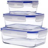 Набор контейнеров Luminarc Pure Box Active 0.38 L, 0.82 L, 1.22 L (J5642)