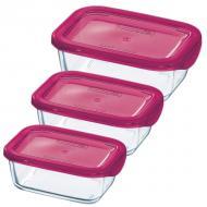 Набор контейнеров Luminarc Keep'n'box 0.36 L, 0.37 L, 1.89 L (J5104)