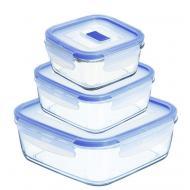 Набор контейнеров Luminarc Pure Box Active 0.38 L, 0.76 L, 1.22 L (H7685)