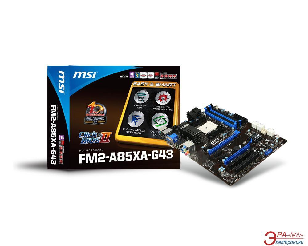 Материнская плата MSI FM2-A85XA-G43