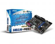 Материнская плата MSI H61M-P23 (G3)