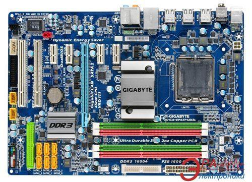 Материнская плата Gigabyte GA-EP43T-UD3L