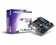 Материнская плата MSI 760GM-E51 (FX) Socket AM3+