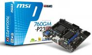 ����������� ����� MSI 760GM-P23 (FX) Bulk Socket AM3