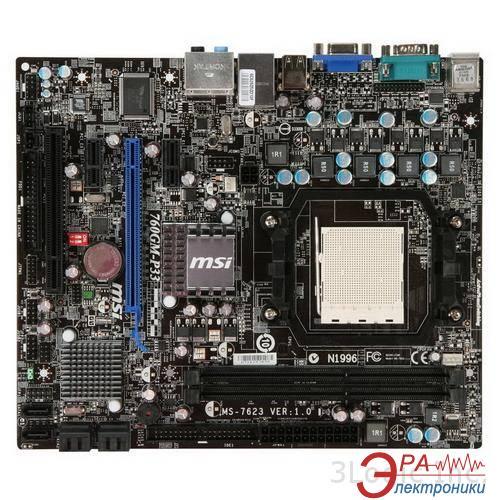 Материнская плата MSI 760GM-P33 Socket AM3