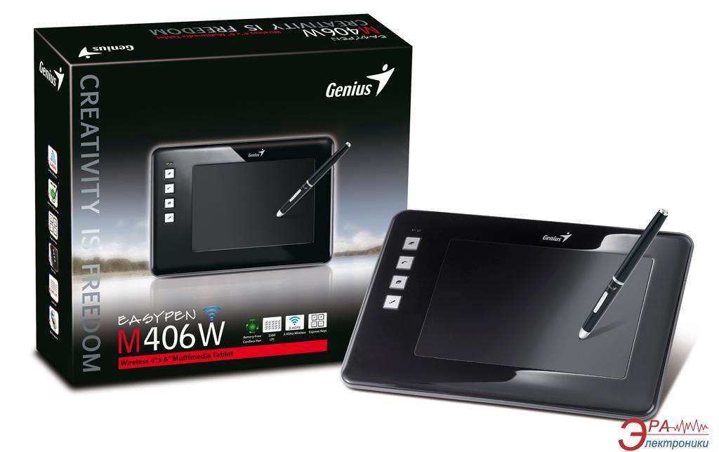 Графический планшет Genius EasyPen M406W (31100033101)