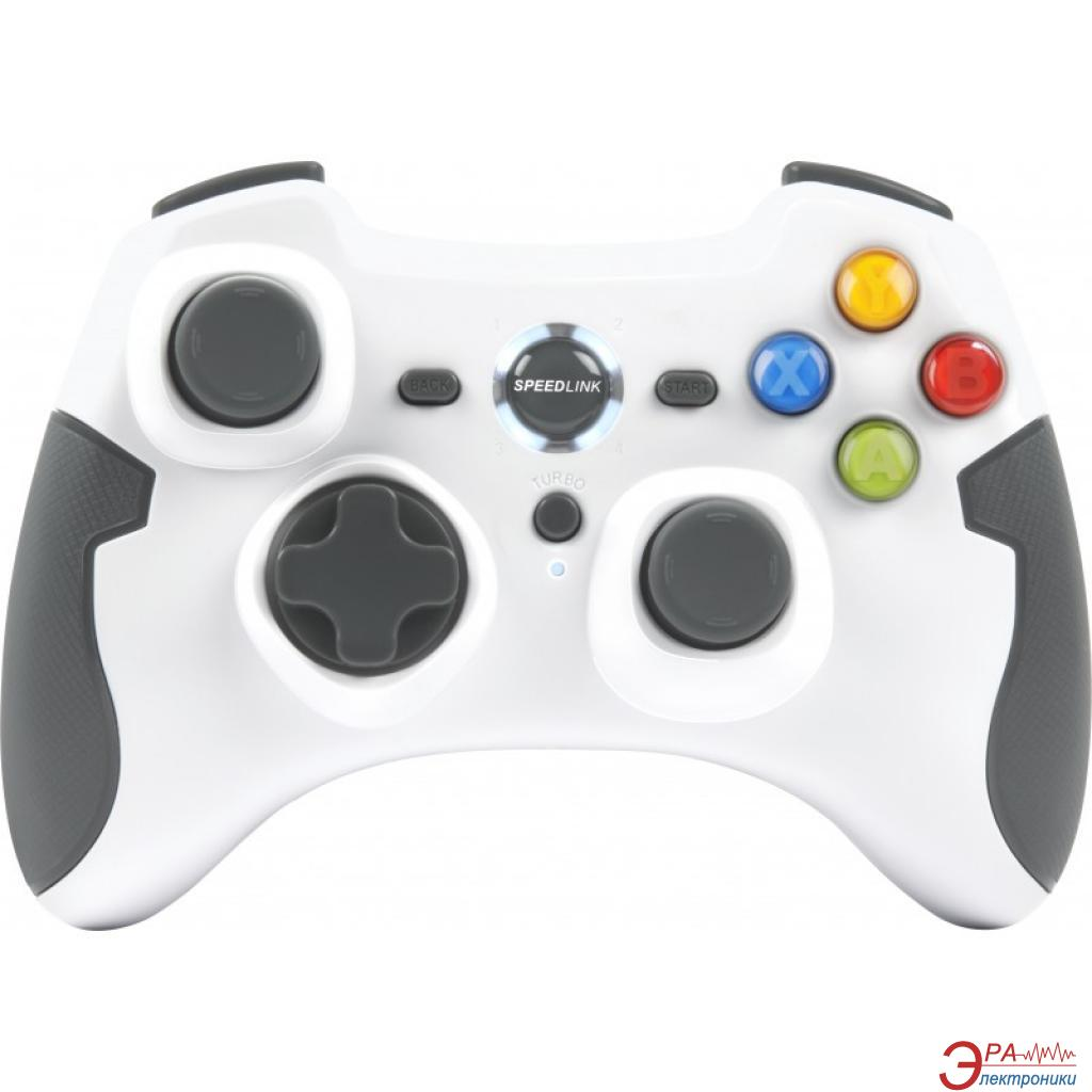 Геймпад Speed Link TORID Gamepad - Wireless - for PC-PS3 White (SL-6576-WE-01)