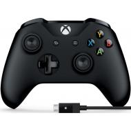 Геймпад Microsoft Xbox One Controller + USB Cable for Windows (4N6-00002)