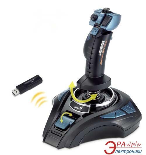 Джойстик Genius MetalStrike Wireless USB (31600025100)