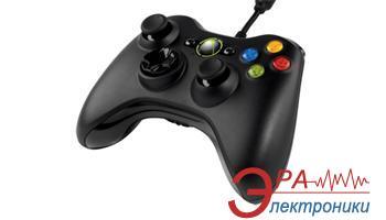 Геймпад Microsoft Xbox 360 Controller Black (52A-00005)