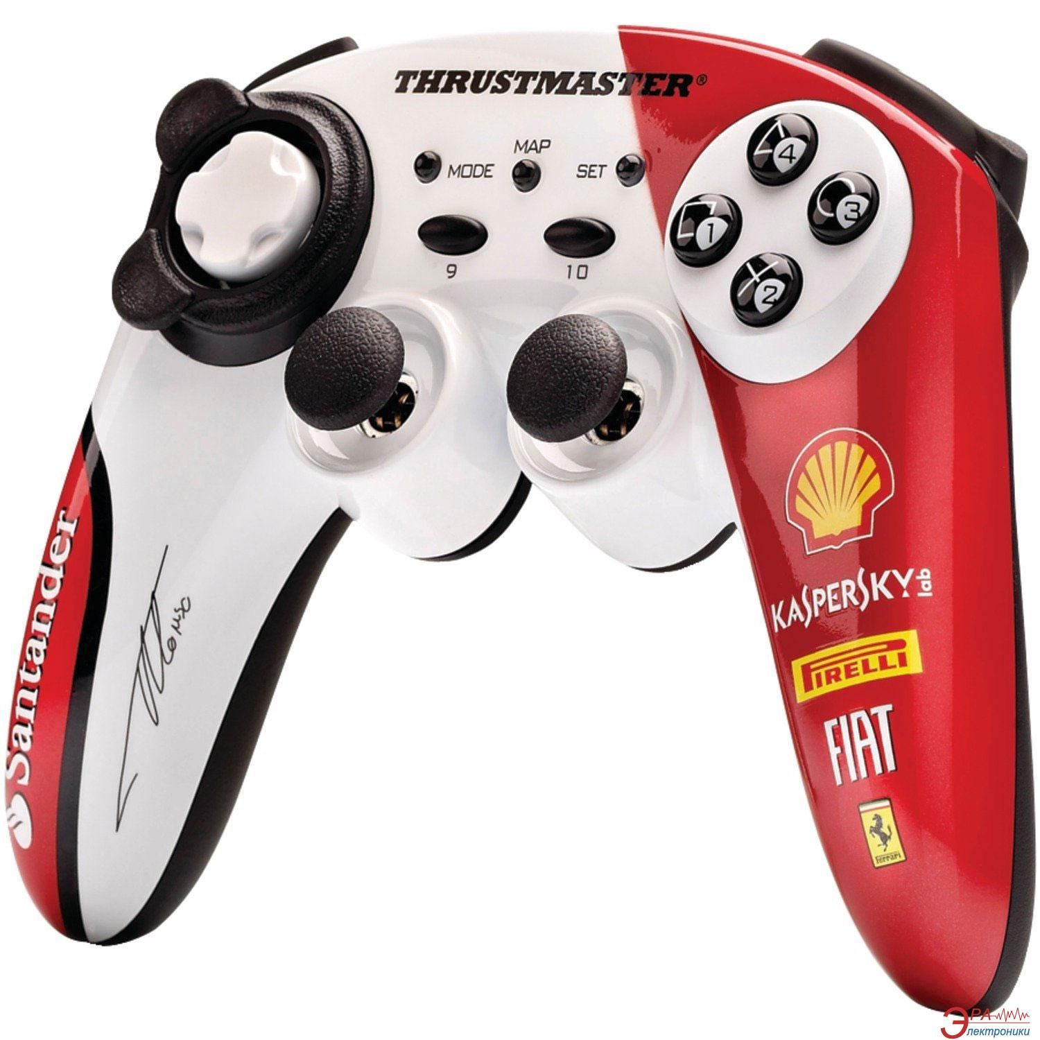 Геймпад Thrustmaster F150 Italia Alonso Limited Edition WL PC/PS3 (4160580)