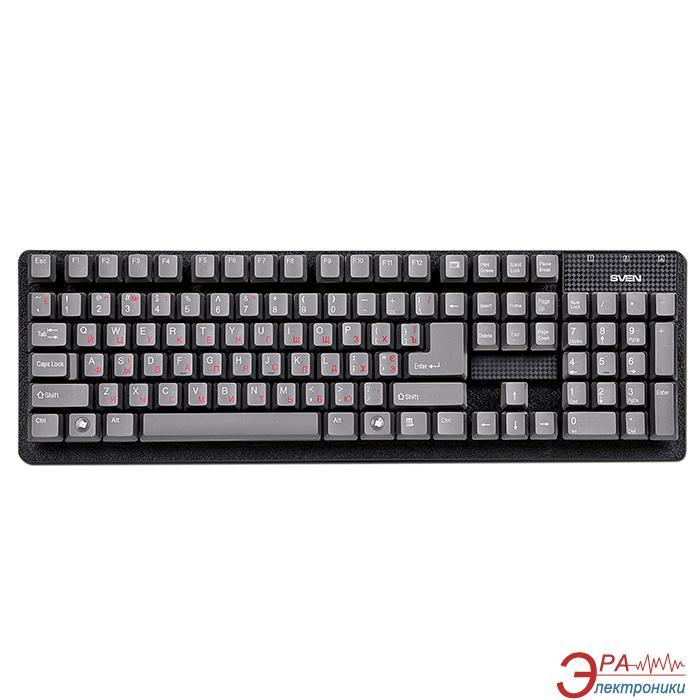 Клавиатура Sven 301 Standard PS/2 Black