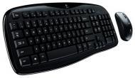Комплект (клавиатура,мышь) Logitech Cordless Desktop MK250 OEM Ukr (920-002638)