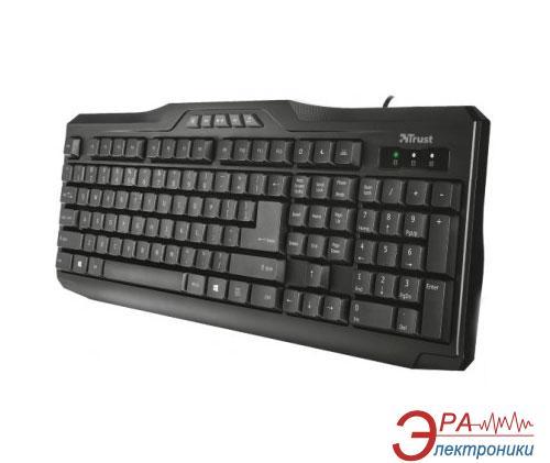 Клавиатура TRUST Classicline Multimedia Keyboard RU (21200)
