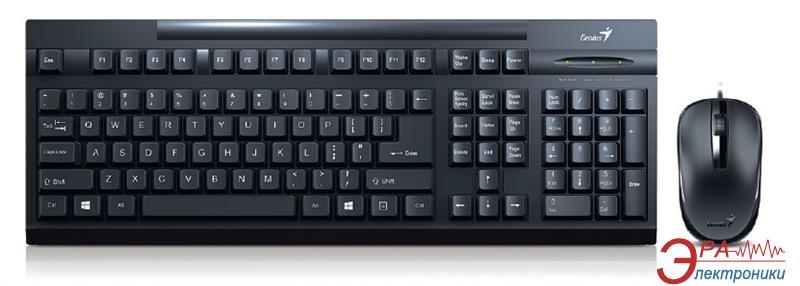 Комплект (клавиатура, мышь) Genius SlimStar КМ-125 USB Ukr (31330209106)
