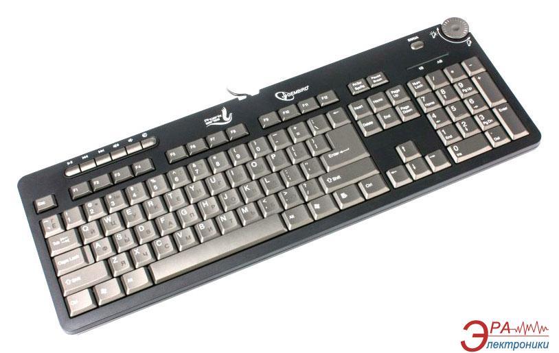 Клавиатура Gembird DLK-001-UA Black
