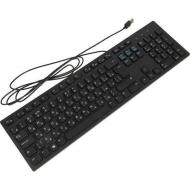 Клавиатура Dell Multimedia KB216 Russian (QWERTY) - Black (580-ADGR)