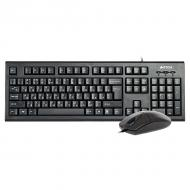 Комплект (клавиатура, мышь) A4Tech KR-8520D USB Black (KR-8520D)