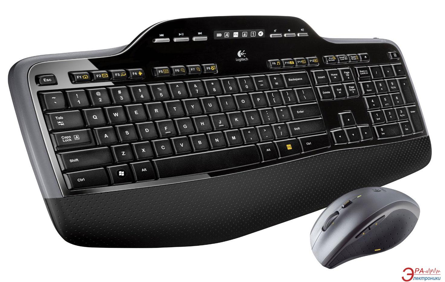 Комплект (клавиатура,мышь) Logitech Wireless Desktop MK710 (920-002434)