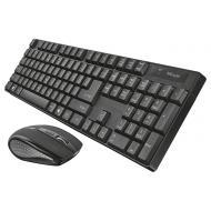 Комплект (клавиатура, мышь) TRUST Ximo UKR Black (21628)