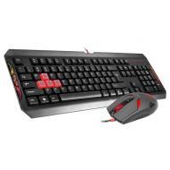 Комплект (клавиатура, мышь) A4Tech Q1100 Black (Q1100 USB B)