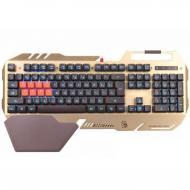 Клавиатура игровая A4Tech B418 USB Golden