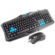 Комплект (клавиатура, мышь) Gemix WС-200 Black USB