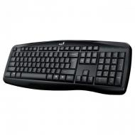 Клавиатура Genius KB-128 USB Black Ukr (31300001410)