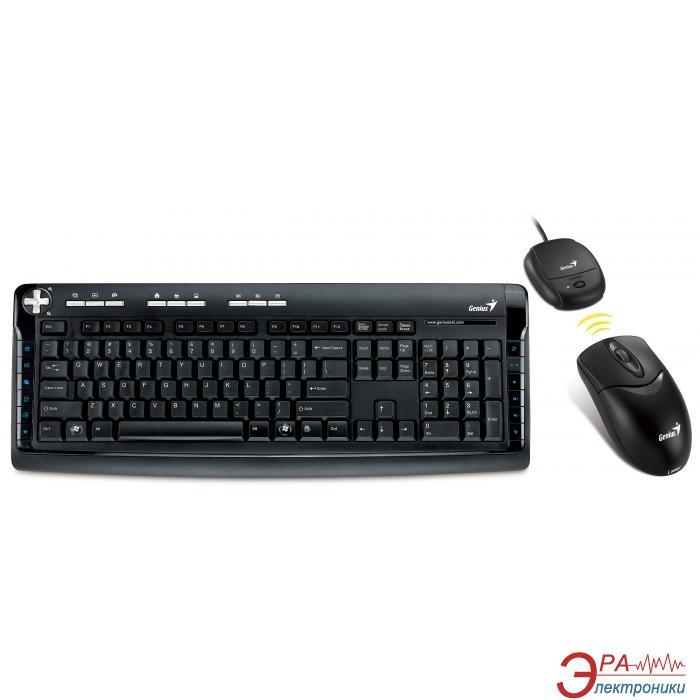 Комплект (клавиатура,мышь) Genius TT 750e Lazer Wireless USB (31340137108)