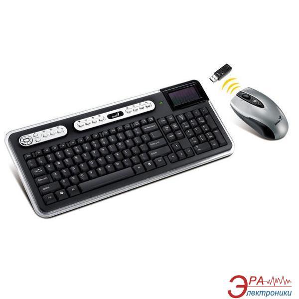 Комплект (клавиатура,мышь) Genius SlimStar 820 Solargizer Wirelles (31340128110)