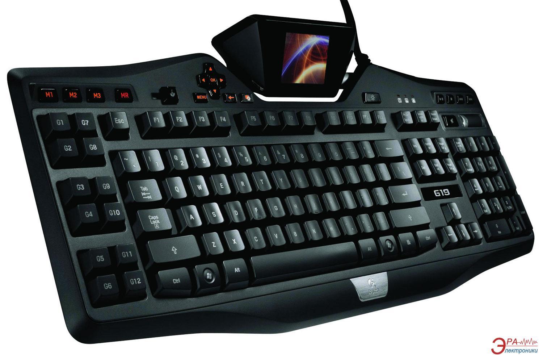 Клавиатура игровая Logitech G19 Gaming USB (920-000977)