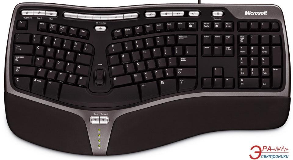 Клавиатура Microsoft Natural Ergo 4000 USB (B2M-00020)