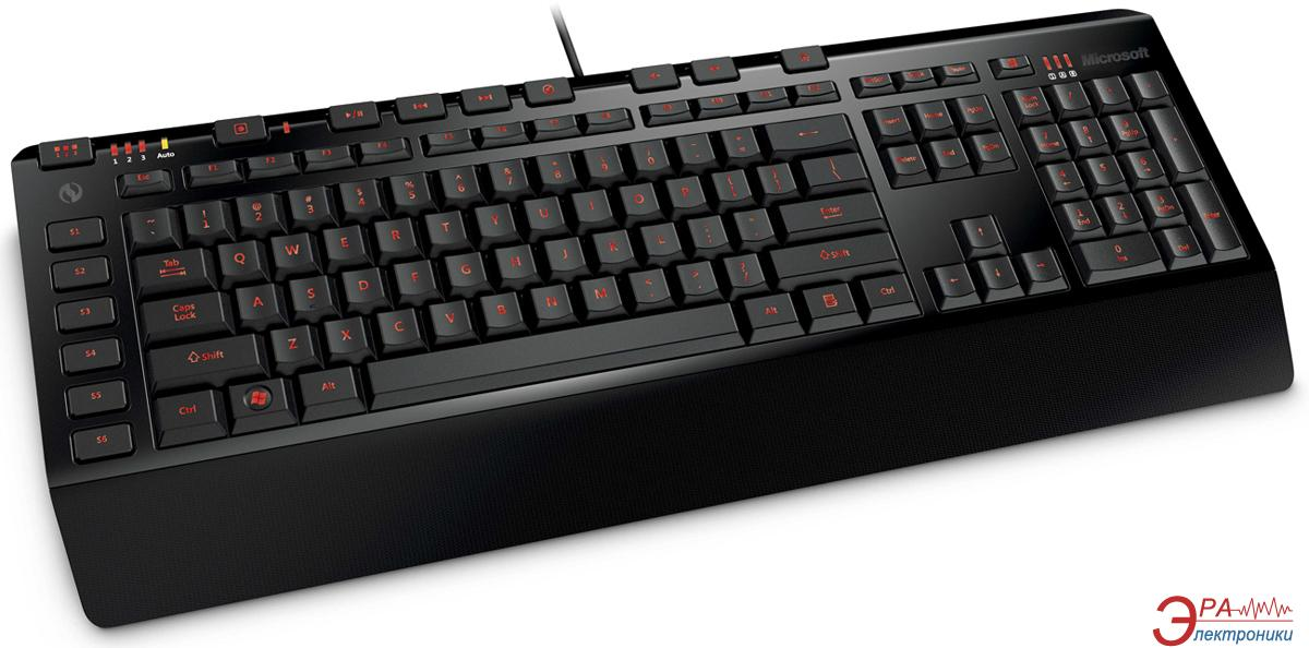 Клавиатура игровая Microsoft Sidewinder X4 USB Ru Ret (JQD-00012)