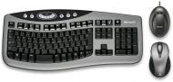 Комплект (клавиатура,мышь) Microsoft Wireless Laser Desktop 3000 Ru Ret (XVA-00025)