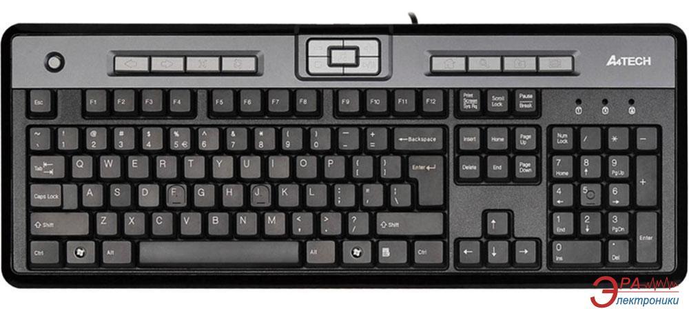 Клавиатура A4Tech KLS-50 PS/2 Black
