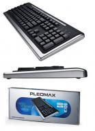 Клавиатура Pleomax KM-210G USB Black (KM-210G)