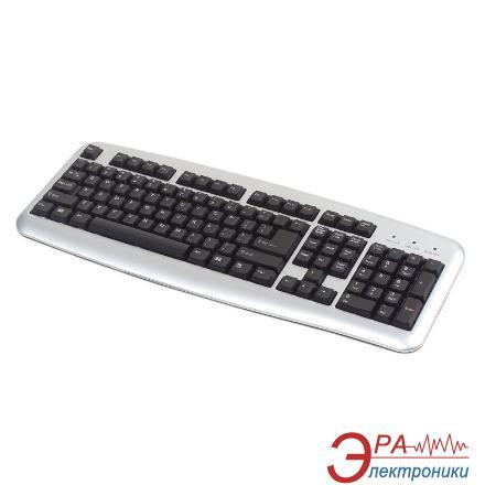 Клавиатура Codegen 1808 Slim PS/2 Silver (1808)