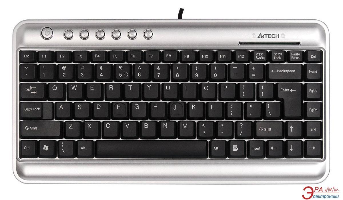 Клавиатура A4Tech KLS-5UP USB+PS/2 Silver