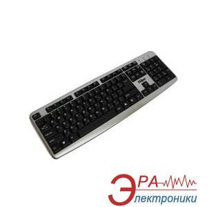 Клавиатура Flyper FK-7401 USB, Silver