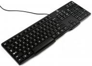 Клавиатура Logitech K100 PS/2 Ru (920-003200)