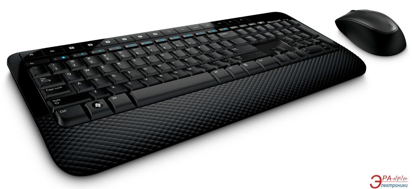 Комплект (клавиатура,мышь) Microsoft WL Desktop 2000 USB RU Ret (M7J-00012)