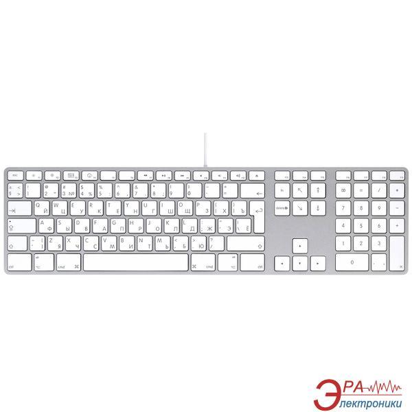 Клавиатура Apple Keyboard (aluminium) (MB110RS/B)