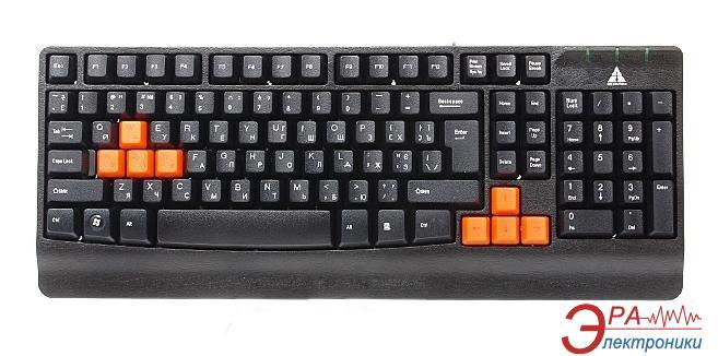 Клавиатура игровая Golden Field K20G-OR PS/2